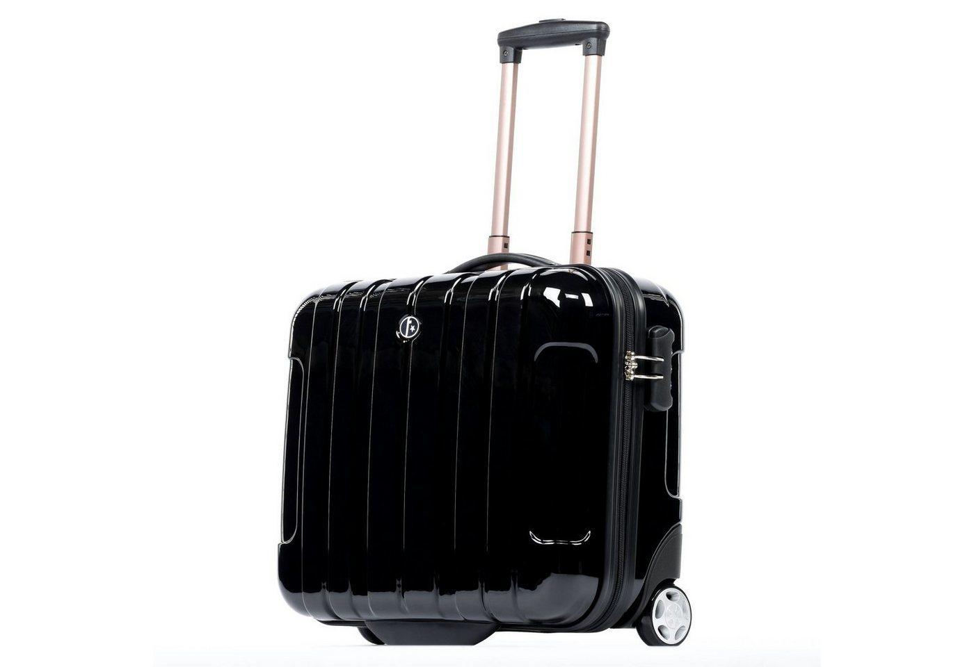 ferg handgep ck trolley paris 2 rollen koffer. Black Bedroom Furniture Sets. Home Design Ideas