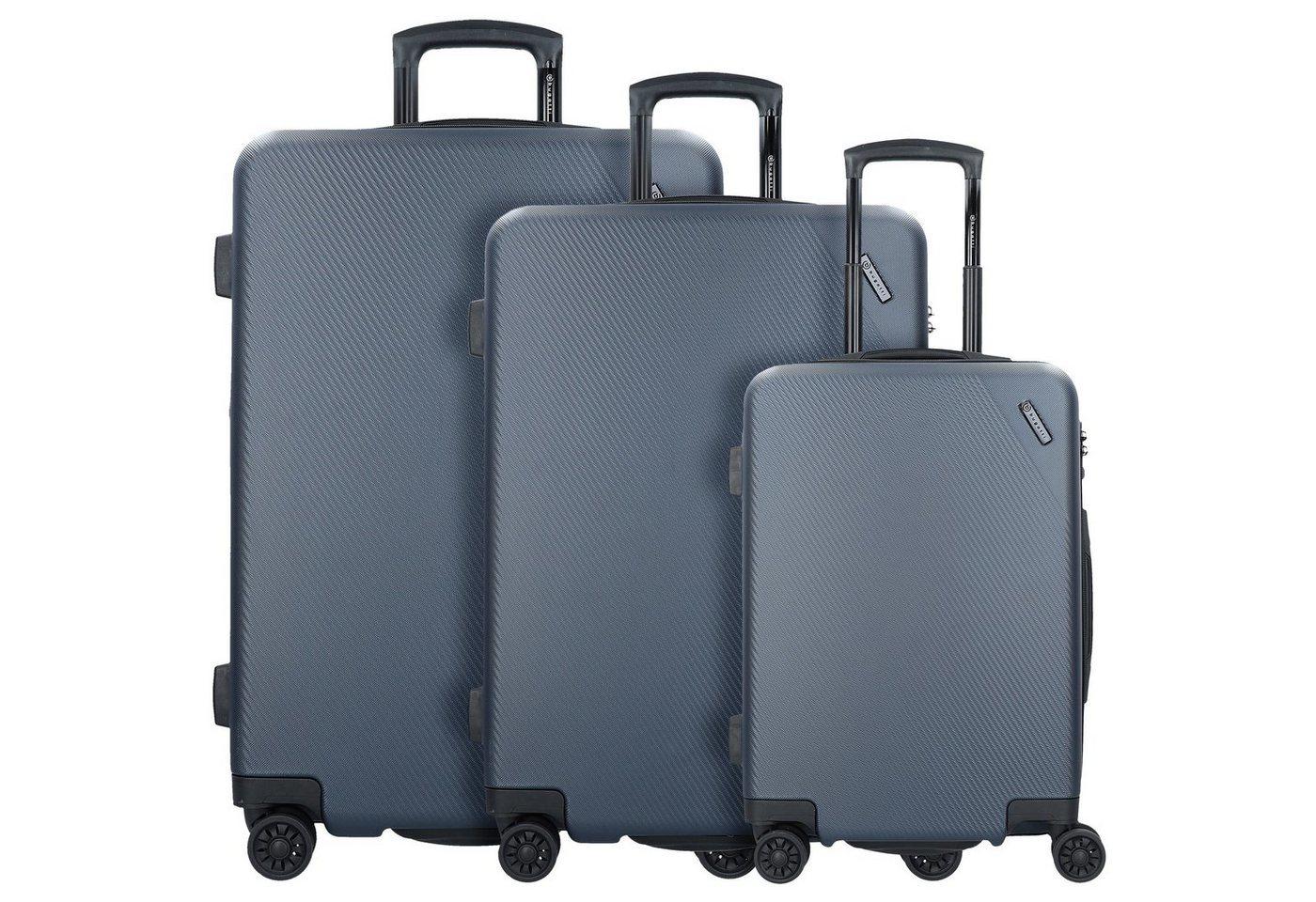 bugatti kallisto 4 rollen kofferset 3tlg koffer und. Black Bedroom Furniture Sets. Home Design Ideas
